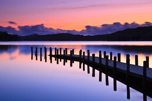 Coniston Jetty In Jetty Canvas Wall Art (Image 5 of 20)