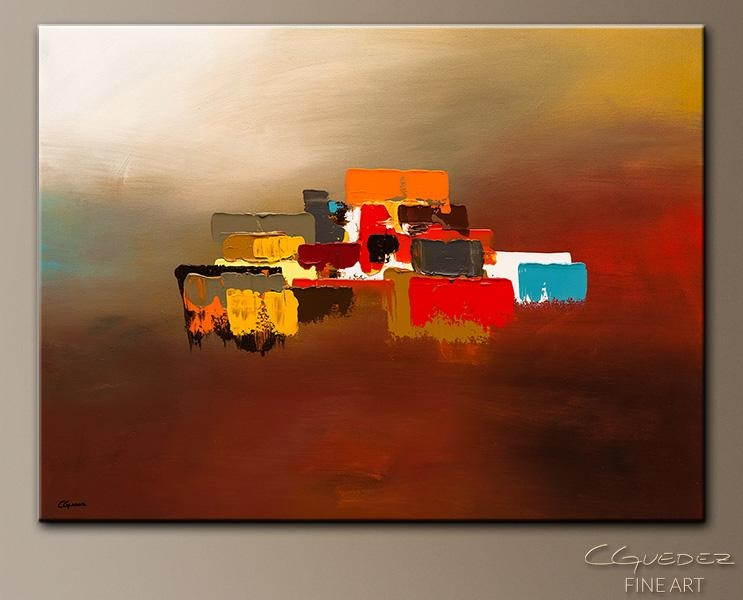 Contemporary Canvas Art Paintings – Horizon – Wall Art Gallery For With Regard To Abstract Horizon Wall Art (Image 6 of 20)