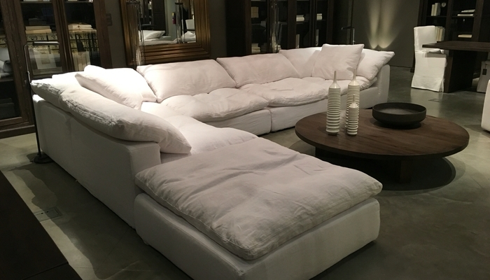 Contemporary Down Filled Sectional Sofa Within Russcarnahan Com Idea With Down Filled Sectional Sofas (Image 2 of 10)