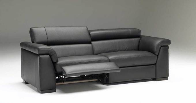 Contemporary Italian Leather Recliner Sofa Catosfera Net Popular Intended For Modern Reclining Leather Sofas (Image 1 of 10)