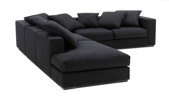 Contemporary Oversized Sectional Sofa Featuring 4 Seater For Philippines Sectional Sofas (View 1 of 10)