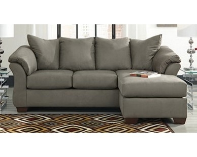 Contemporary Plush Chaise Sofa U2013 Grey U2013 Sam Levitz Furniture | Dream For Sam  Levitz Sectional Sofas