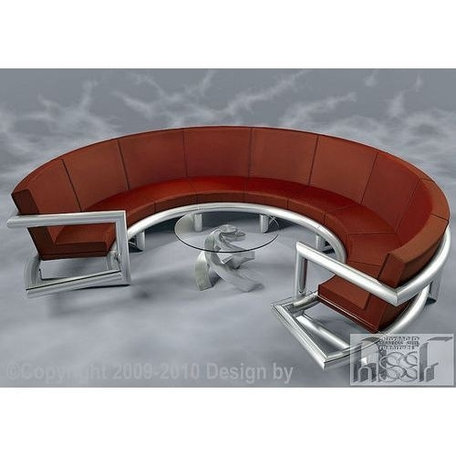 Contemporary Semi Circle Sofas | S F International | Manufacturer In Intended For Circle Sofas (Image 5 of 10)