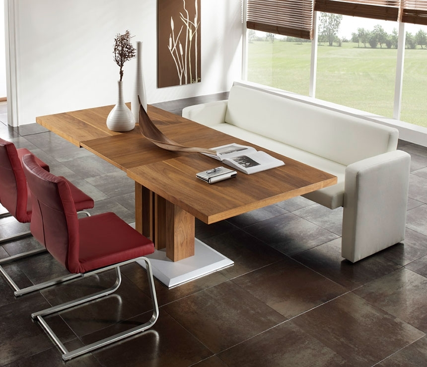 Contemporary Sofa Dining Tables – Wharfside Contemporary Furniture With Regard To Sofa Chairs With Dining Table (Image 2 of 10)