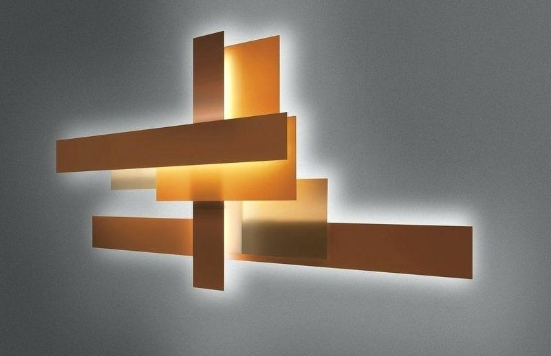 Contemporary Wall Art Abstract Metal And Glass Founterior Large Within Glass Abstract Wall Art (View 9 of 20)