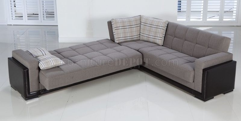 Convertible Sectional Sofa Bed Convertible Sectional Sofa Bed 2017 Pertaining To Convertible Sectional Sofas (Image 1 of 10)