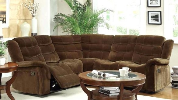 Cool Sectional Sofa Design Amazing Small Reclining Sofas With With Sectional Sofas With Recliners For Small Spaces (Image 3 of 10)