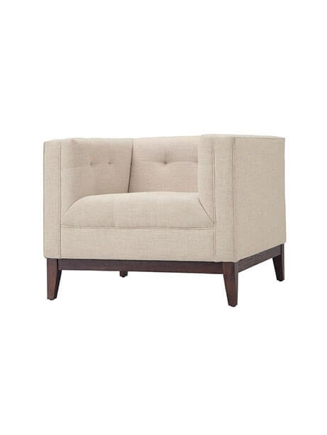 Coop Sofa Chair | Modern Furniture • Brickell Collection Intended For Sofa With Chairs (Image 1 of 10)