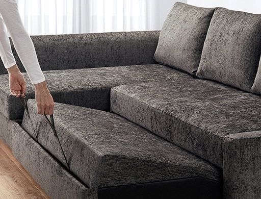 Corner Sofa Beds, Futons & Chair Beds | Ikea For Ikea Corner Sofas With Storage (Image 1 of 10)