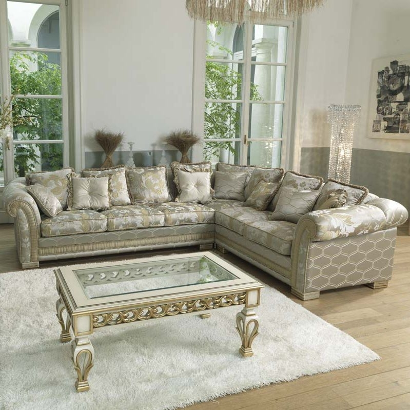 Corner Sofa / Traditional / Fabric / 5 Seater – Ambassador – Pigoli With Regard To Traditional Fabric Sofas (Image 2 of 10)