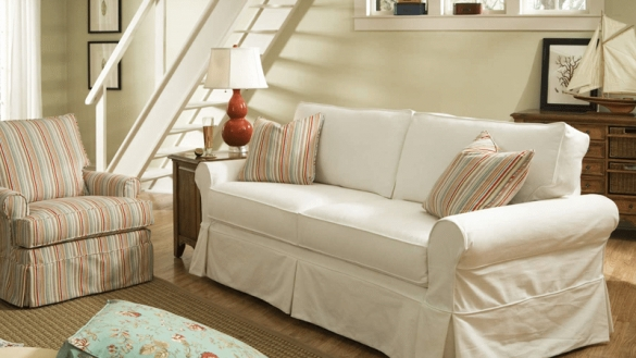 Cottage Style Sofa | Dosgildas Regarding Cottage Style Sofas And Chairs (Image 4 of 10)