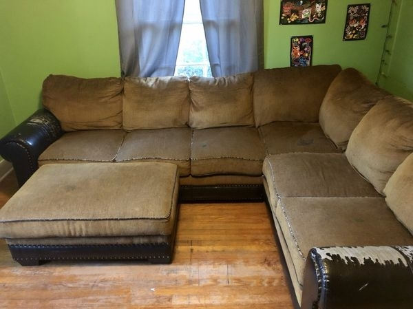 Couch And Ottoman 200 (Furniture) In Hattiesburg, Ms – Offerup Regarding Hattiesburg Ms Sectional Sofas (Image 3 of 10)