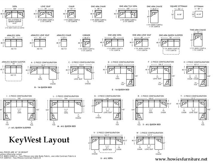 Couch Sizeslayout Dimensions Home Pinterest Sofa Layout Pertaining To Sectional Sofas By Size (Image 1 of 10)