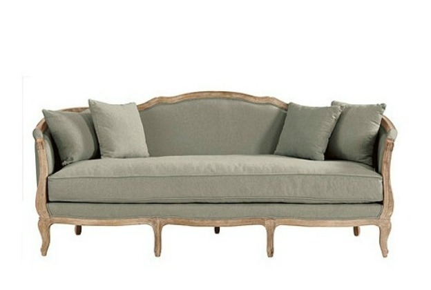 Country French Style Sofa – Hymns And Verses Inside French Style Sofas (Image 2 of 10)