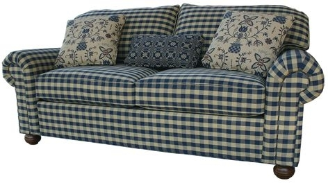 Country Plaid Sofas | Anyone Have Plaid Couches? Edited With A For Country Sofas And Chairs (Image 3 of 10)