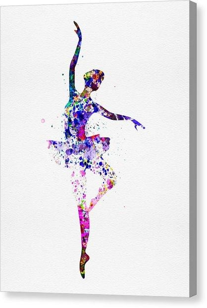 Couple Dancing Canvas Prints | Fine Art America Intended For Dance Canvas Wall Art (Image 7 of 20)