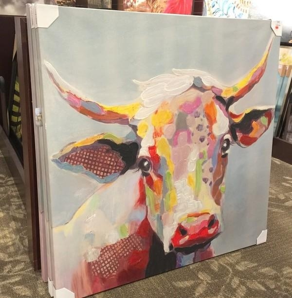 Cows, Cheetahs, & Trays, Oh My! – My Kirklands Blog With Regard To Kirklands Canvas Wall Art (Image 8 of 20)
