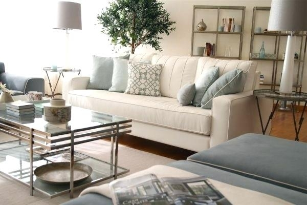Cream Colored Leather Sofa Fxteam Club Inside Sectional Plans 16 Pertaining To Cream Colored Sofas (Image 5 of 10)