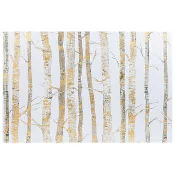 Featured Image of Birch Trees Canvas Wall Art