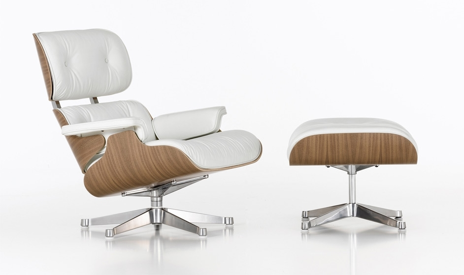 Creation Process Of The Eames Lounge Chair And Ottoman | Veerle's Inside Chairs With Ottoman (Image 2 of 10)