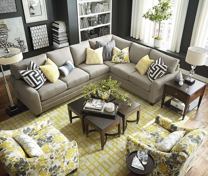 Cu2 L Shaped Sectional Sofabassett – Sectional Sofas Regarding Sectional Sofas At Bassett (Image 3 of 10)