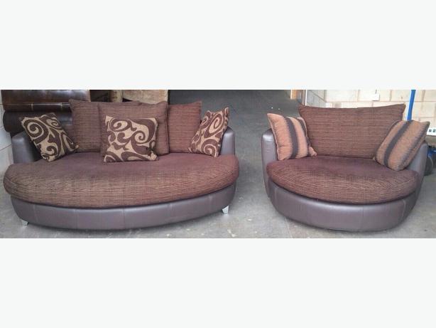 Cuddler Swivel Sofa Chair – Serbyl Decor Within Cuddler Swivel Sofa Chairs (Image 4 of 10)