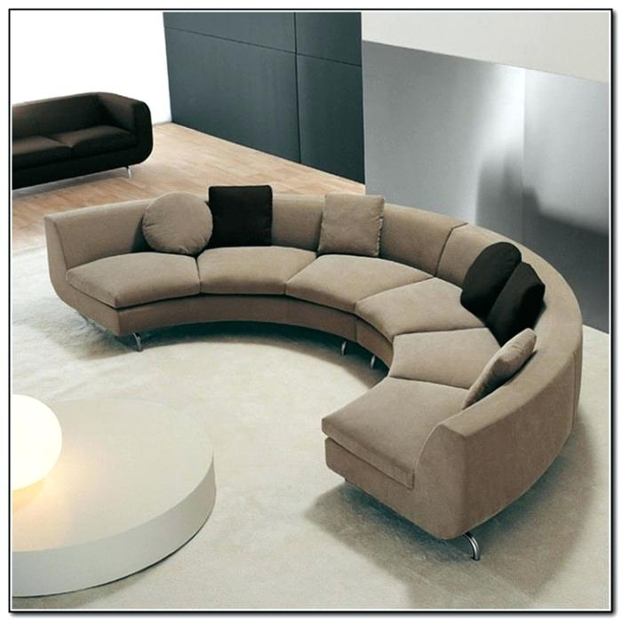 Curved Sectional Couch Circular Sectional Sofa Kulfoldimunkaclub With Regard To Ontario Canada Sectional Sofas (Image 4 of 10)