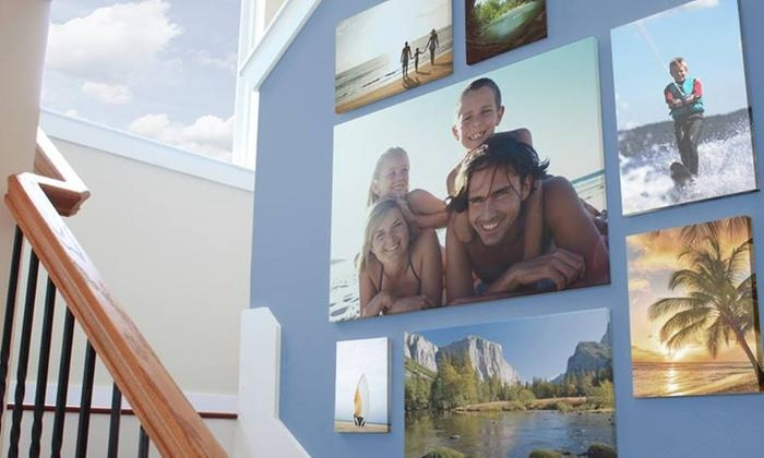 Custom Canvas Print – Easy Canvas Prints | Groupon Within Groupon Canvas Wall Art (Image 7 of 20)