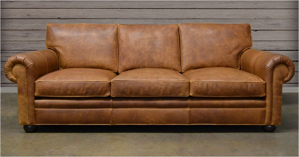 Custom Leather Sofas Sofa Furniture San Diego Made Uk Houston Tx In Made In North Carolina Sectional Sofas (Image 4 of 10)