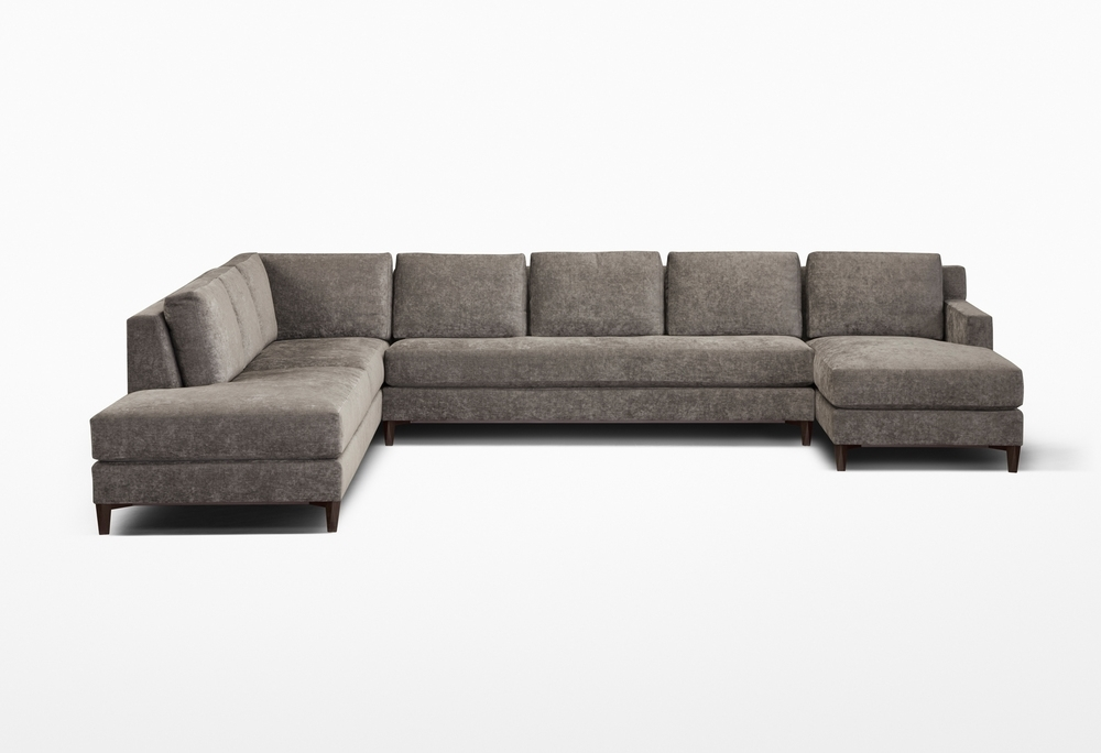 Custom Sectional Sofa 003 — Chai Ming Studios Regarding Customizable Sectional Sofas (Image 3 of 10)