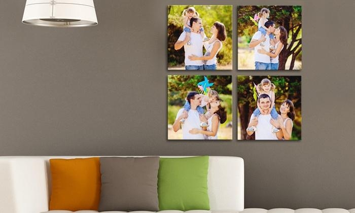 Custom Square Canvas Prints – Picture It On Canvas | Groupon Throughout Groupon Canvas Wall Art (Image 9 of 20)