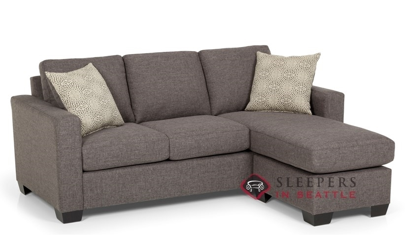 Customize And Personalize 702 Chaise Sectional Fabric Sofa With Regard To Sectional Sleeper Sofas With Chaise (Image 4 of 10)