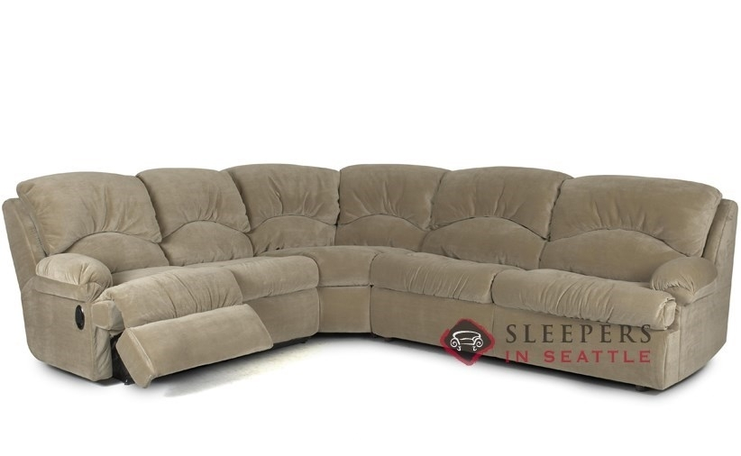 Customize And Personalize Milan True Sectional Fabric Sofasavvy Pertaining To 3 Piece Sectional Sleeper Sofas (Image 6 of 10)