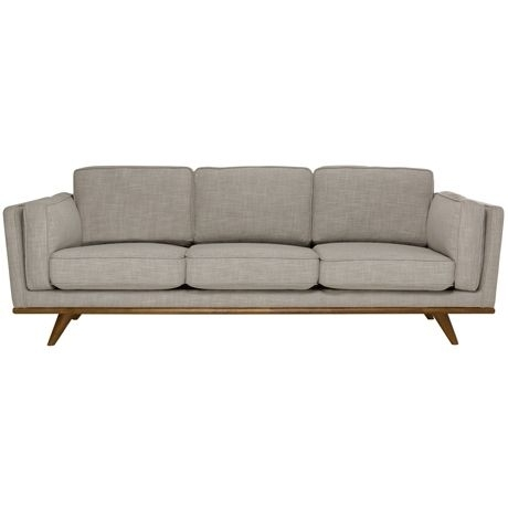 Dahlia 3 Seat Sofa Austria Shell – Also Comes In Light Blue, Navy Regarding Mid Range Sofas (Photo 5 of 10)