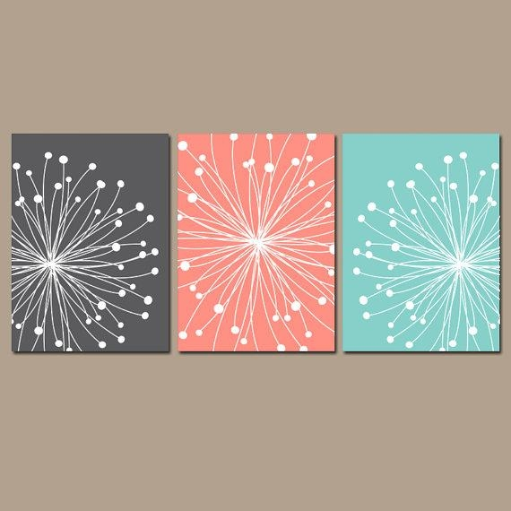 Dandelion Wall Art Dandelion Bedroom Pictures Canvas Or Pertaining To Dandelion Canvas Wall Art (Image 9 of 20)