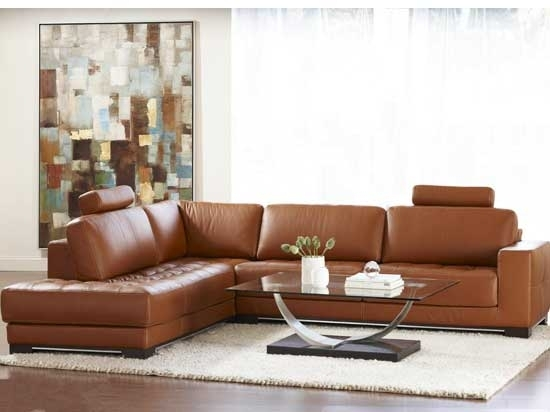 Dania – Sectionals – Breckenridge Leather Sectional | Fierce With Dania Sectional Sofas (Image 2 of 10)