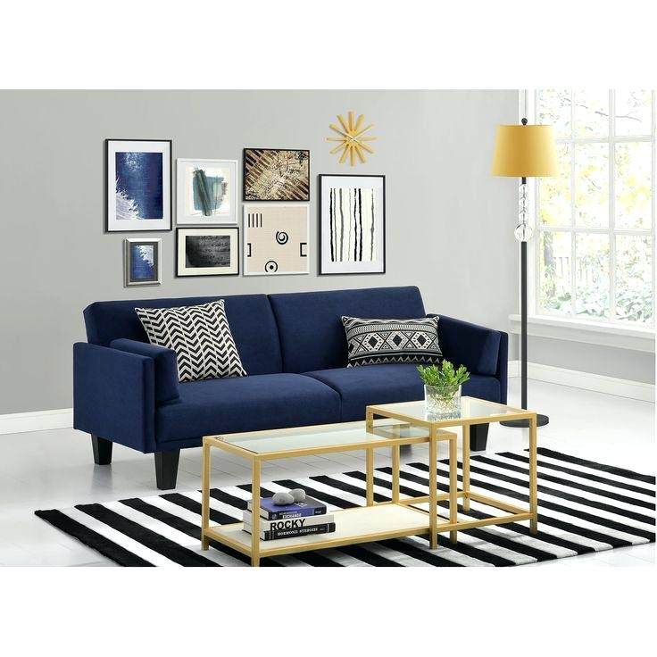 Dark Blue Sofa – Wojcicki With Regard To Dark Blue Sofas (Image 7 of 10)