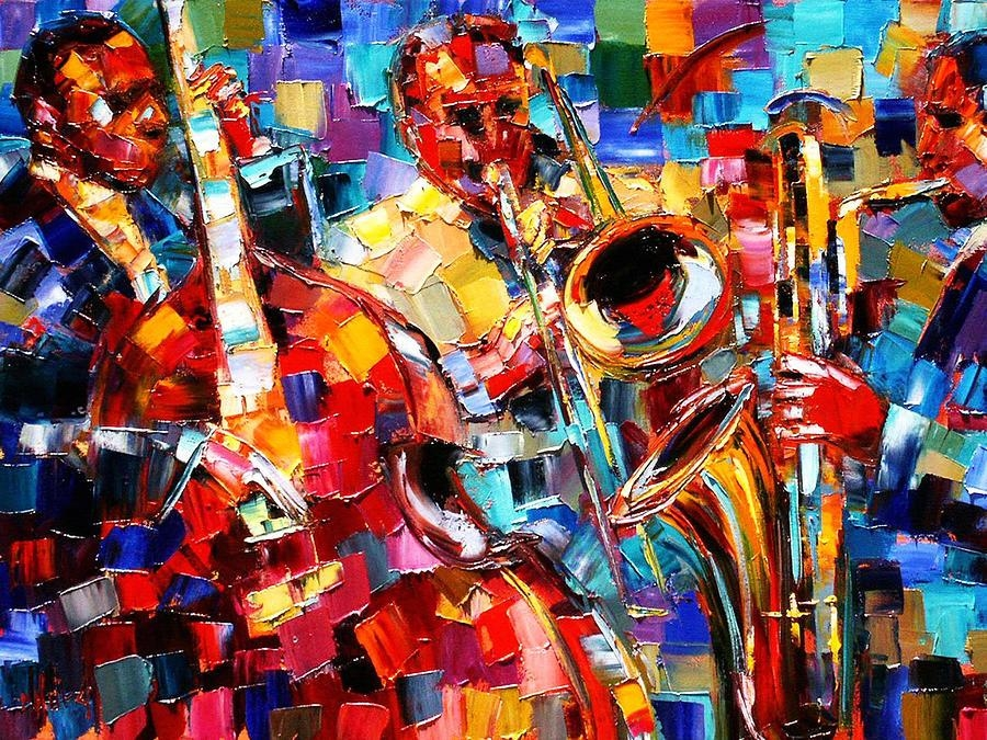 Debra Hurd | Talentart | Pinterest | Jazz Art, Art Google And With Regard To Jazz Canvas Wall Art (Image 8 of 20)