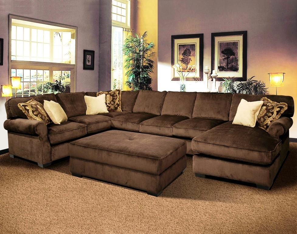 Decorate Deep Sectional Sofa With Pillows — The Decoras Jchansdesigns Throughout Sectional Sofas Under  (Image 4 of 10)