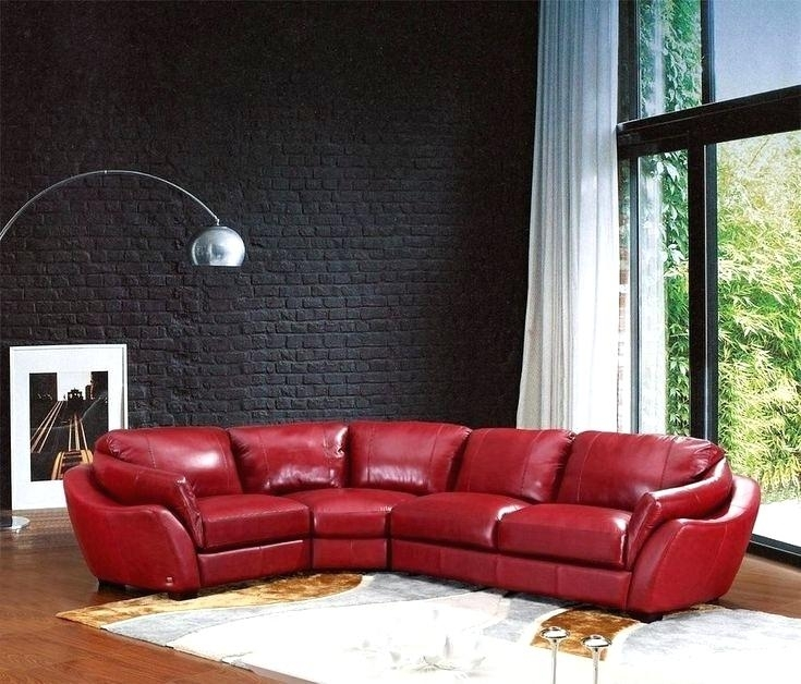 Decorating Ideas Living Room Red Leather Sofa The Best Sofas On Intended For Red Leather Couches For Living Room (Image 3 of 10)