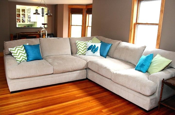 Deep Cushion Sectional Sofa Extra Couches Modern Design Oversized With Deep Cushion Sofas (Photo 9 of 10)