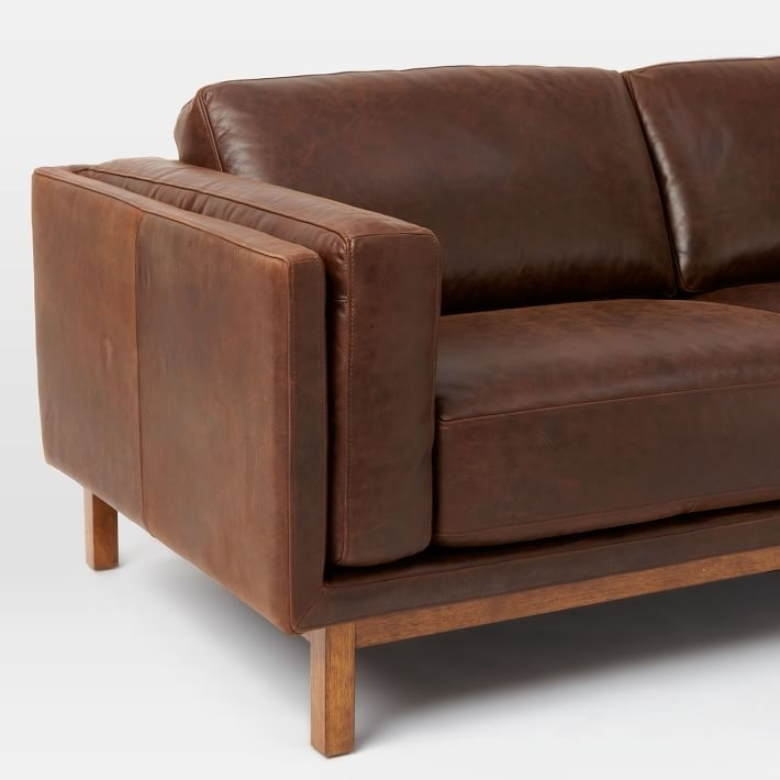 """Dekalb Leather Sofa (85"""") 