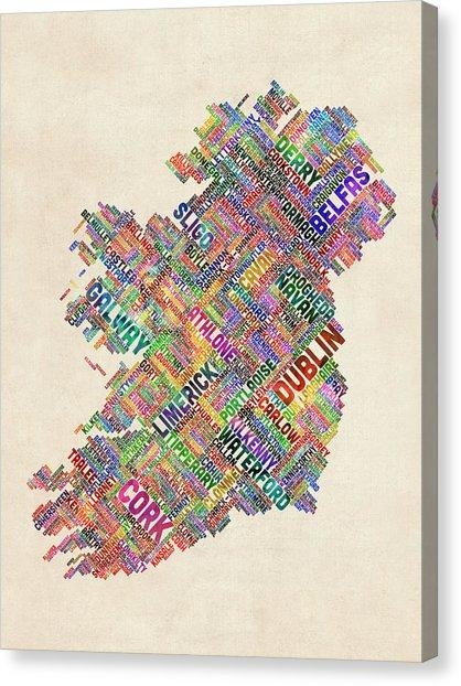 Derry Canvas Prints | Fine Art America With Ireland Canvas Wall Art (Image 9 of 20)