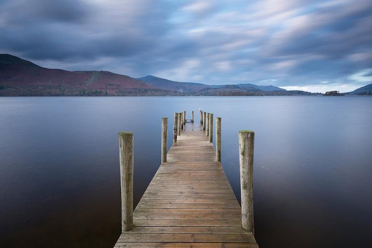Derwentwater Jetty Canvas Wall Artadam Burton | Icanvas Pertaining To Jetty Canvas Wall Art (Image 7 of 20)
