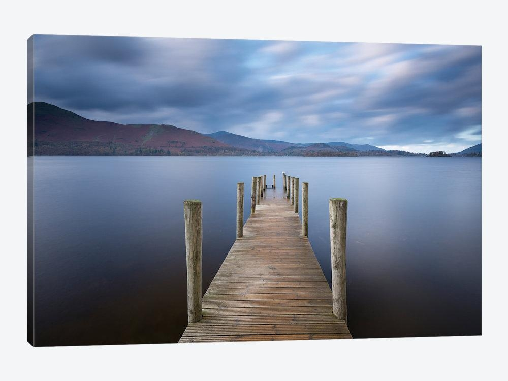 Derwentwater Jetty Canvas Wall Artadam Burton | Icanvas Pertaining To Jetty Canvas Wall Art (Image 6 of 20)