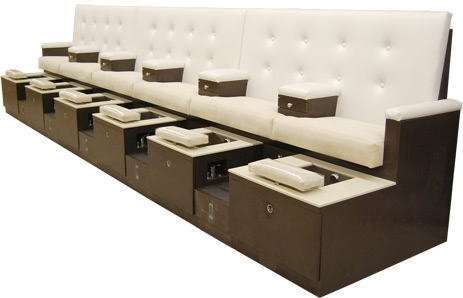 Design X Manufacturing Inc| Grande Hexa Pedicure Chair Throughout Sofa Pedicure Chairs (Image 3 of 10)