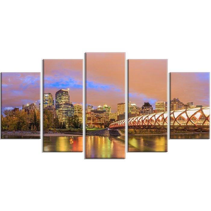 Featured Image of Calgary Canvas Wall Art