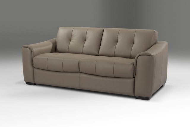 Designer Genuine Leather Sofa Bed 3 Seater With Removable Matterss Intended For Leather Sofas With Storage (Image 4 of 10)