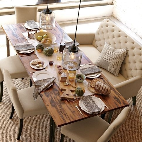 Dining Table With Sofa Chairs Best 25 Couch Dining Table Ideas On Regarding Sofa Chairs With Dining Table (Image 4 of 10)