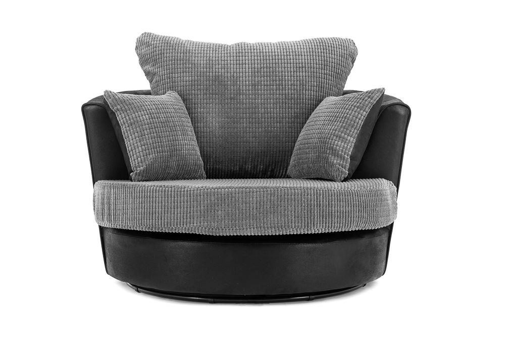 Dino Swivel Chair Throughout Sofas With Swivel Chair (Image 4 of 10)
